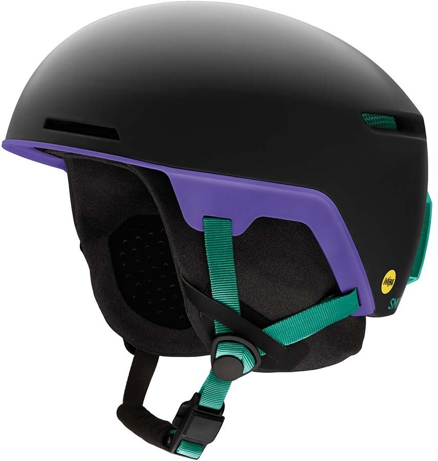 Smith Code MIPS Snowboard/Ski Helmet, S Matte Jade Black 2020