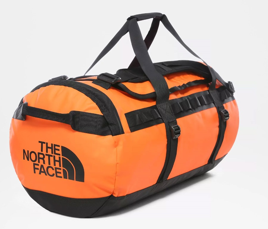 The North Face Base Camp Small 50L Persian Orange/TNF Black