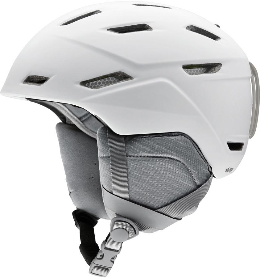 Smith Mirage Women's Snowboard/Ski Helmet, S Matte White 2020