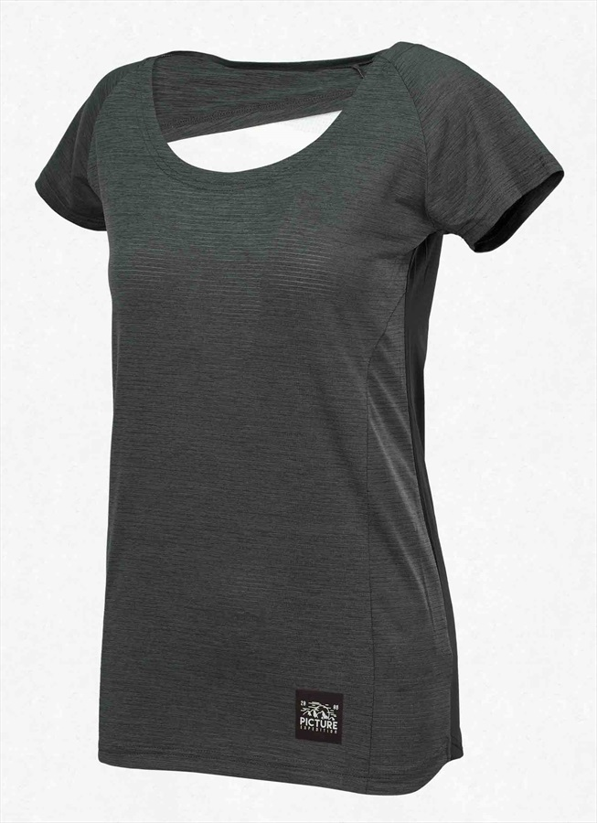 Picture Milli Women's Technical T-Shirt, M Black