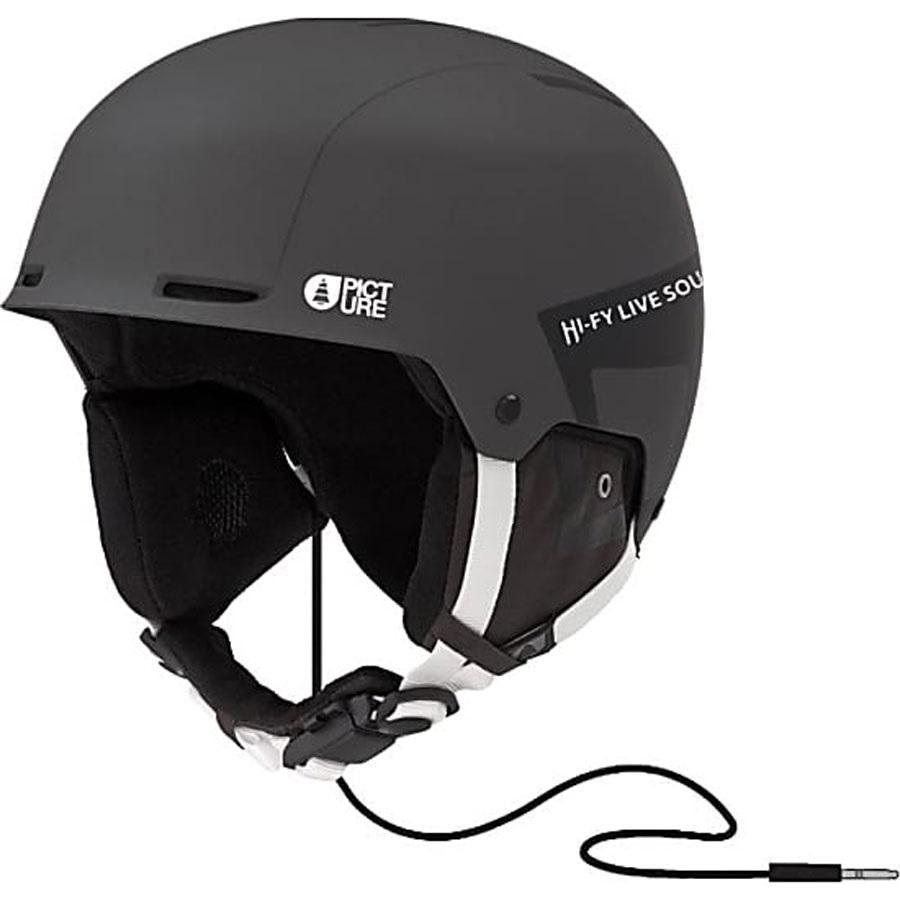 Picture Unity HIFI Snowboard/Ski Helmet, L Black 2020