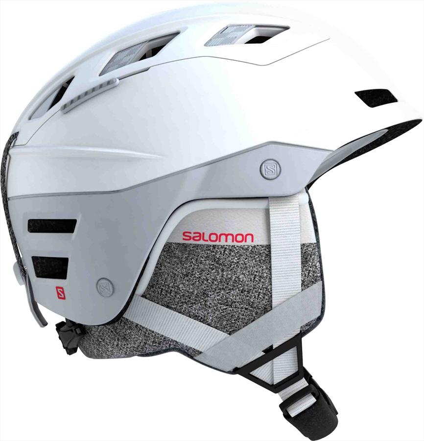 Salomon QST Charge W Women's Ski/Snowboard Helmet, S White Pop