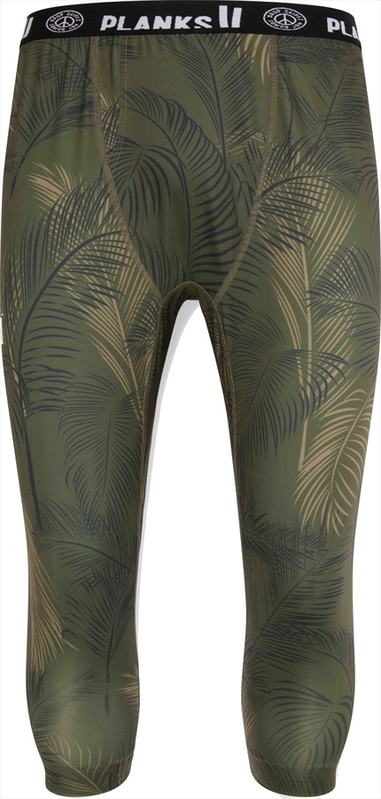 Planks Fall-Line Base Layer Thermal Bottoms, M Jungle Palm