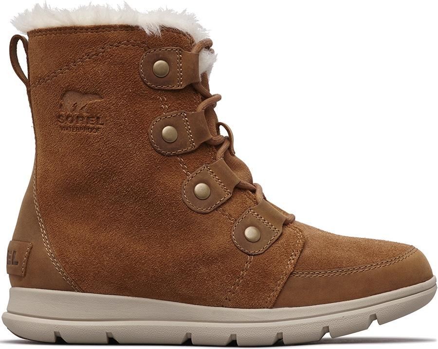 Sorel Explorer Joan Women's Winter Boots, UK 7 Camel Brown