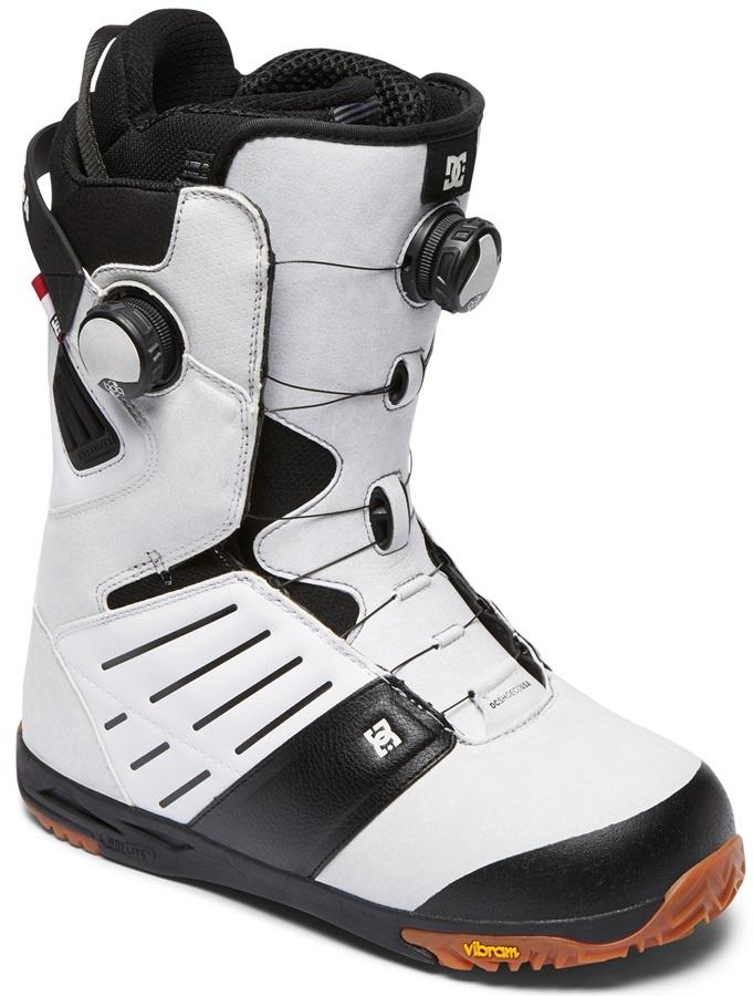 DC Judge Boa Snowboard Boots, UK 6.5 White 2019