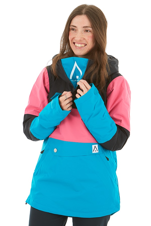 Wearcolour Homage Anorak Women's Snowboard/Ski Jacket, XS Enamel Blue