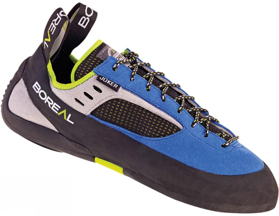 Boreal Mens Joker Lace Rock Climbing Shoe, UK 7 | EU 40.75 Blue