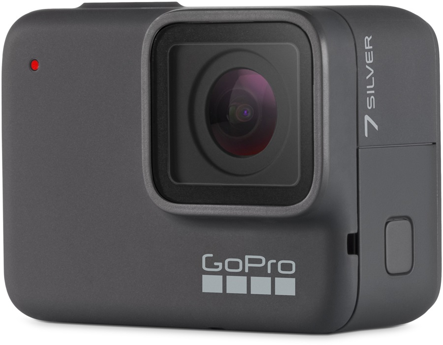 GoPro HERO7 Action Camera Silver With Free 16GB Memory Card