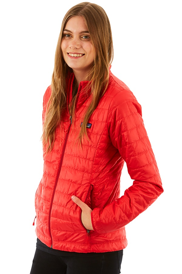 Patagonia Women's Nano Puff Insulated Jacket, UK 10 Maraschino