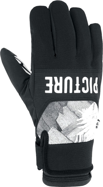 Picture Hudson Snowboard/Ski Gloves, L Black