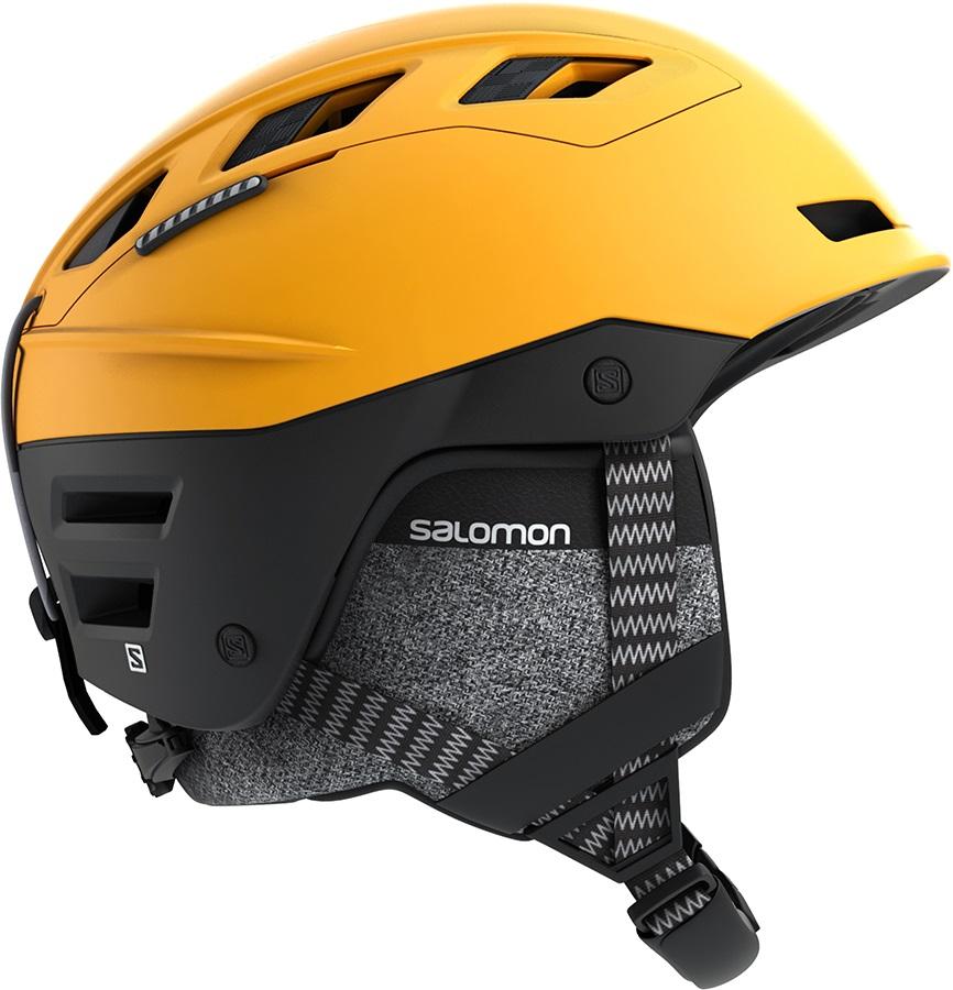 Salomon Adult Unisex QST Charge Ski/Snowboard Helmet, S Safran/Black