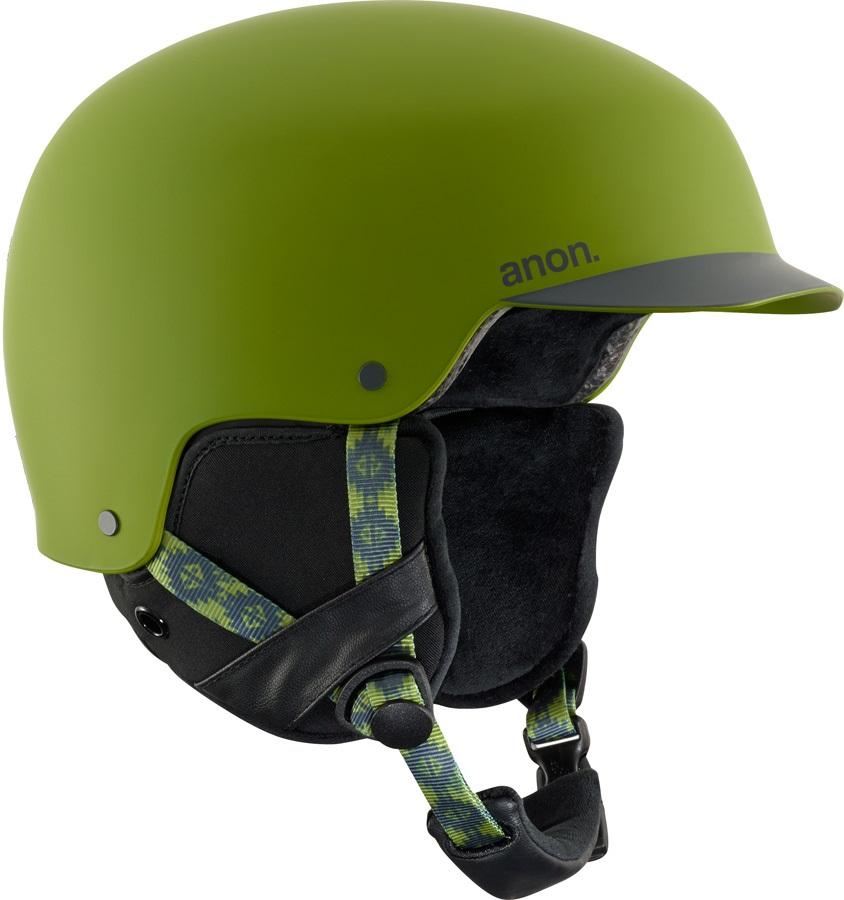 Anon Blitz Ski/Snowboard Helmet, S Forest Green
