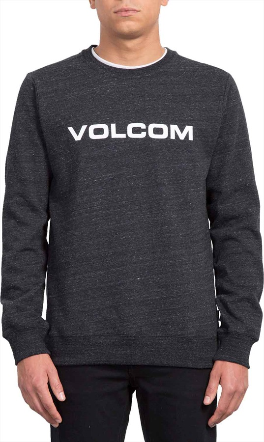 Volcom Imprintz Crew, XL Sulfur Black