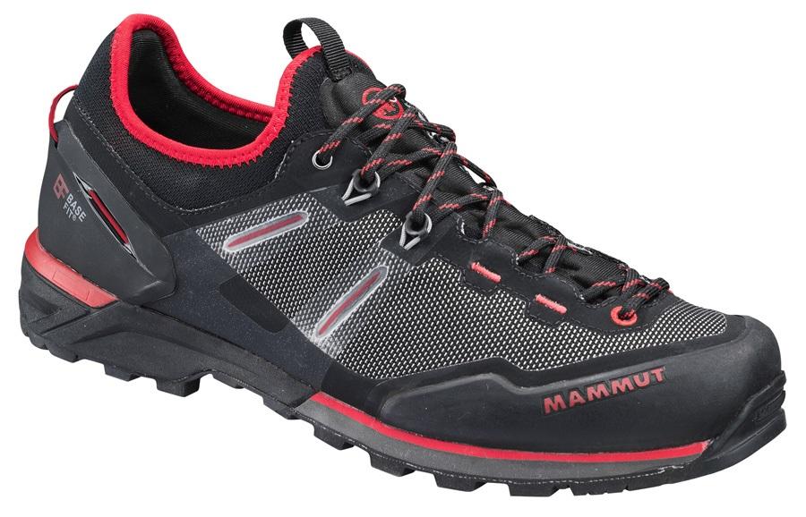 Mammut Alnasca Knit Low Men's Approach Shoe, UK 11 Black Magma