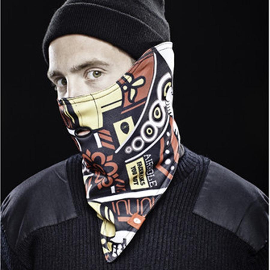 Airhole Standard Snowboard/Ski Face Mask, L/XL   Mens / Unisex, Holdem
