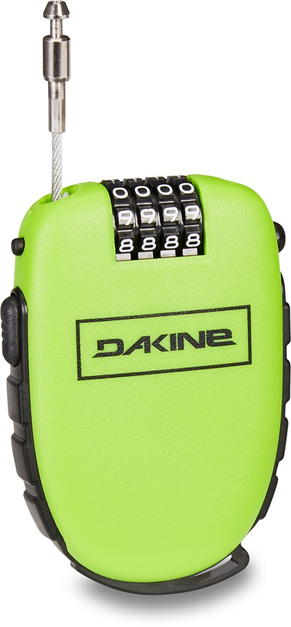 Dakine Cool Lock Snowboard Cable Security Lock Green