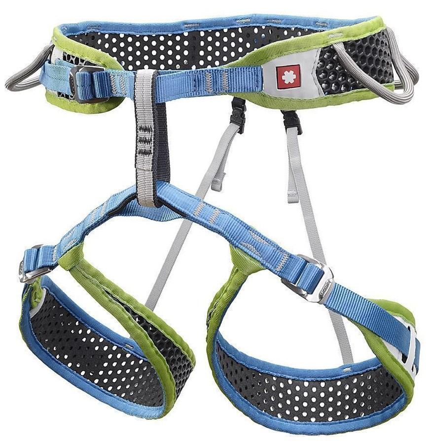Ocun Adult Unisex WeBee 3 Rock Climbing Harness Set, M Green/Grey