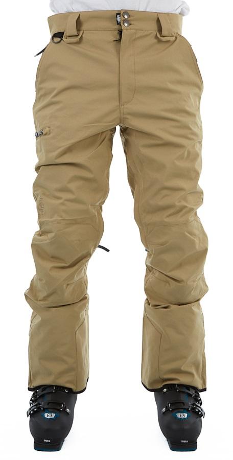 Saga Fatigue Ski/Snowboard Pants, L Khaki
