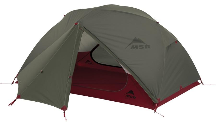 MSR Elixir 2 V2 Tent Backpacking Shelter, 2 Person Green