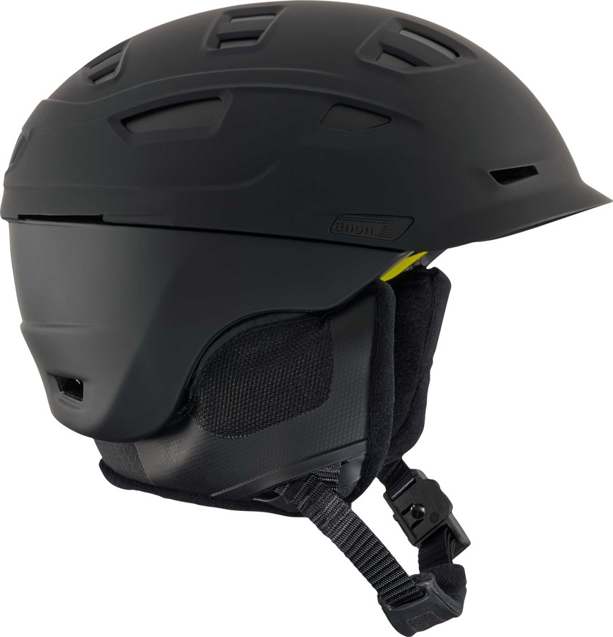 Anon Adult Unisex Prime MIPS Ski/Snowboard Helmet, M Blackout