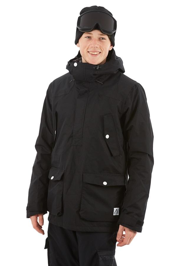 Wearcolour Colour Anorak Snowboard/Ski Jacket, L Black