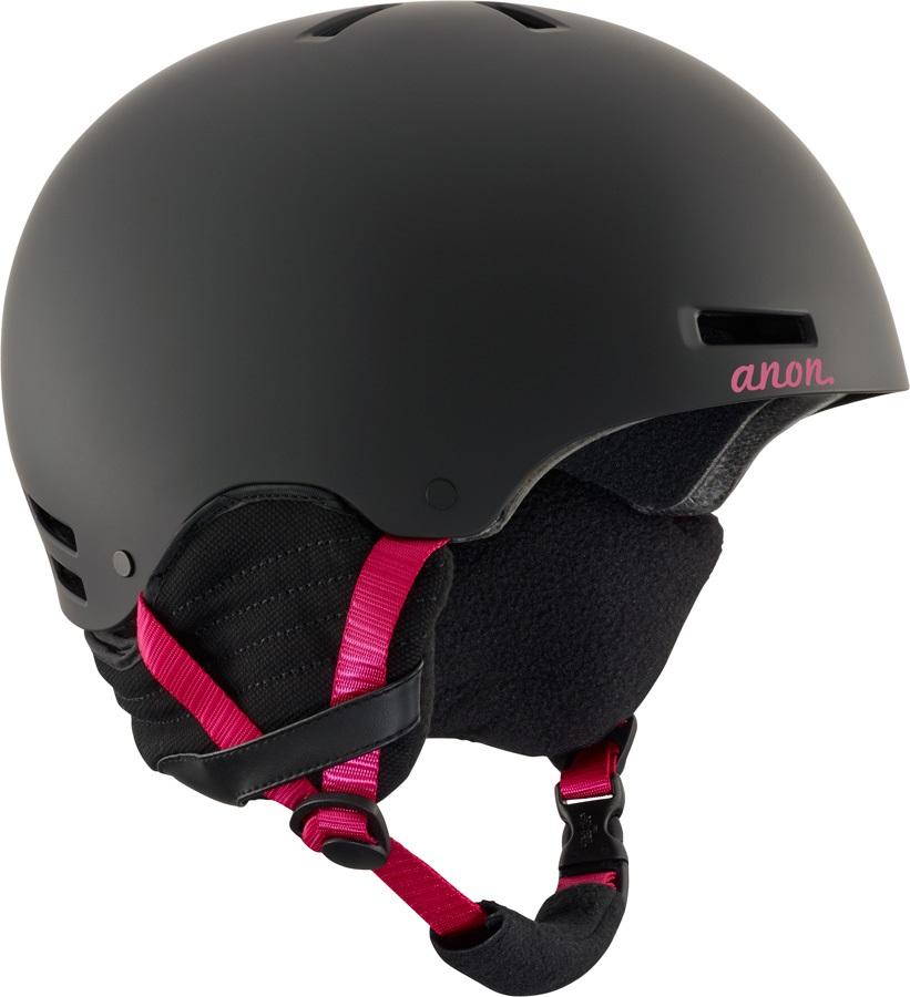 Anon Greta Women's Ski/Snowboard Helmet, L Black Cherry