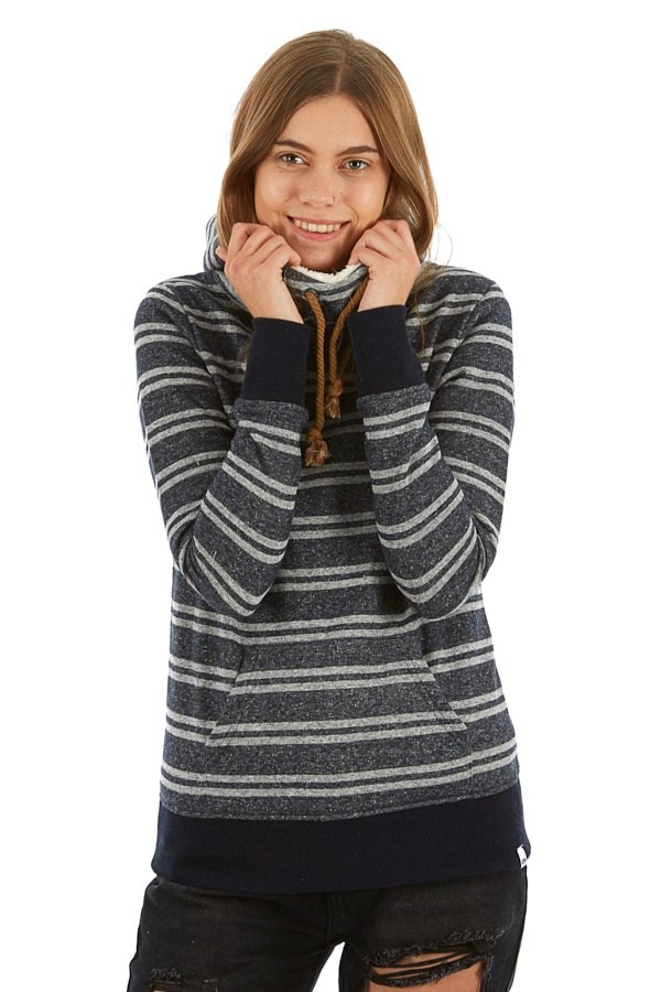 Animal Wrapped Up Women's Hoodie, UK 10 Sky Captain Blue
