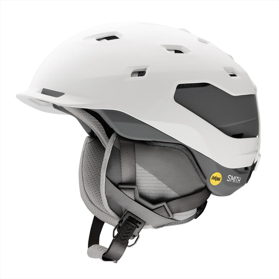 Smith Quantum MIPS Ski/Snowboard Helmet, M Matte White Charcoal