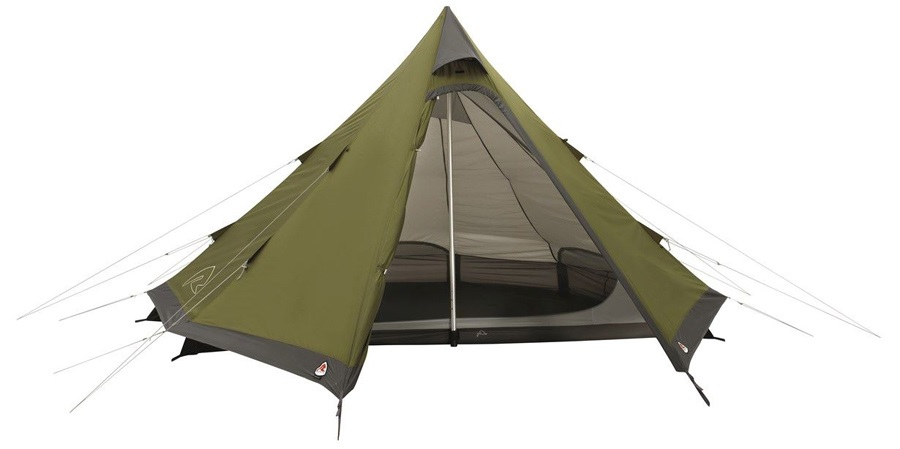 Robens Green Cone Tent Camping Tipi Shelter 4 Man Green