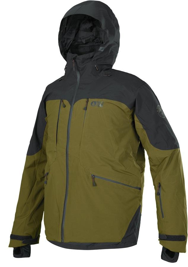 Picture Naikoon Ski/Snowboard Jacket, S Kaki