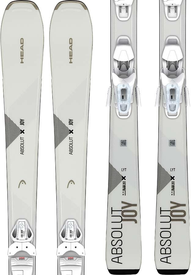 Head Womens Absolut Joy Joy 9 GW Women's Skis, 158cm White 2020