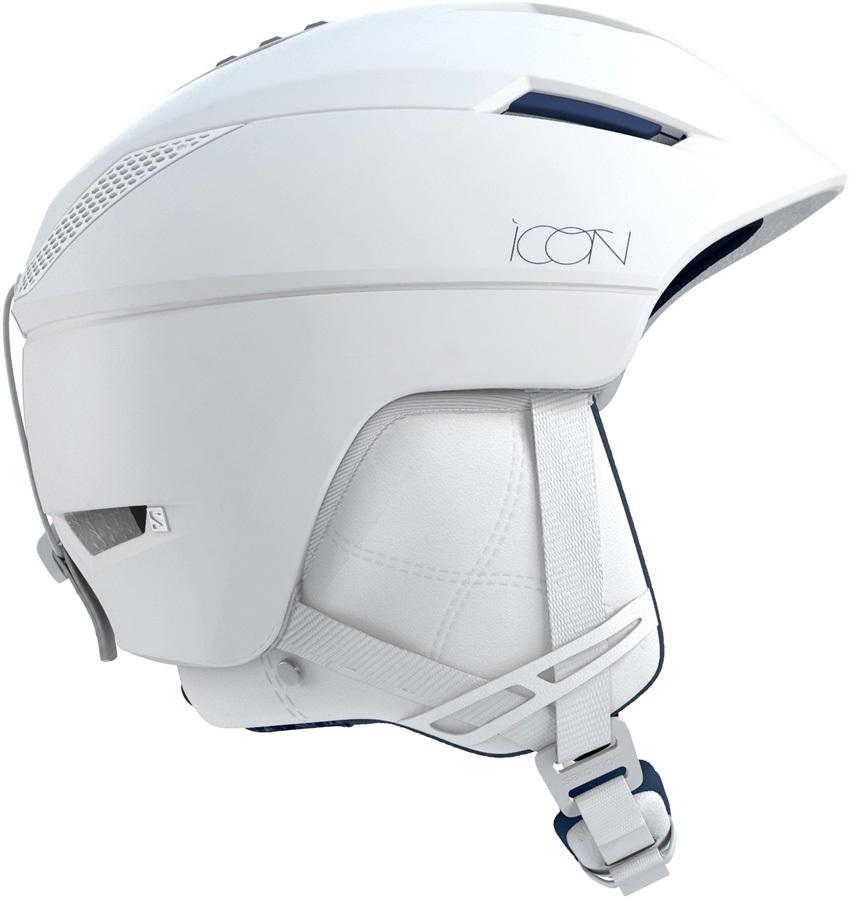 Salomon Womens Icon2 C.Air MIPS Women's Snowboard/Ski Helmet, S White