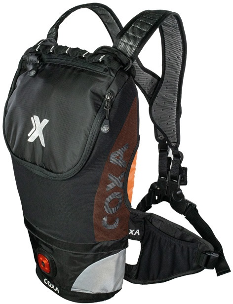 Coxa Carry M10 Backpack Dayhiking, Skiing, Cycling Pack, Orange Black