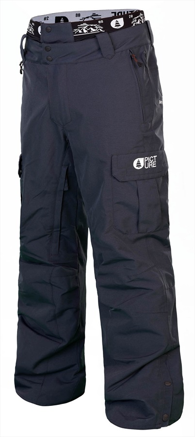 Picture Panel Ski/Snowboard Pants, M Dark Blue 2019