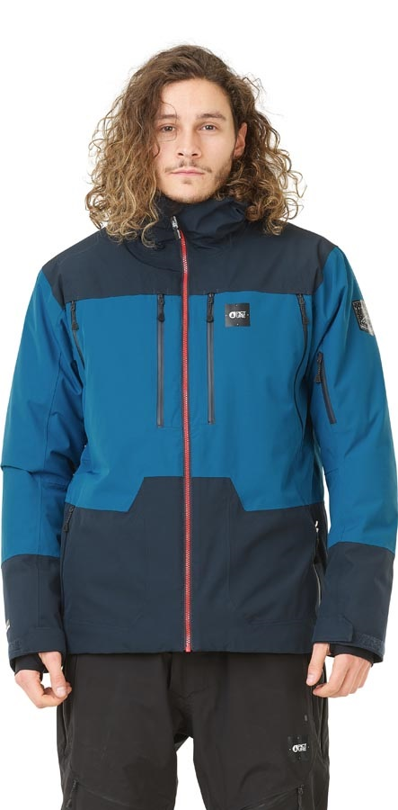 Picture Duncan 3-in-1 Snowboard/Ski Jacket, L Dark Blue