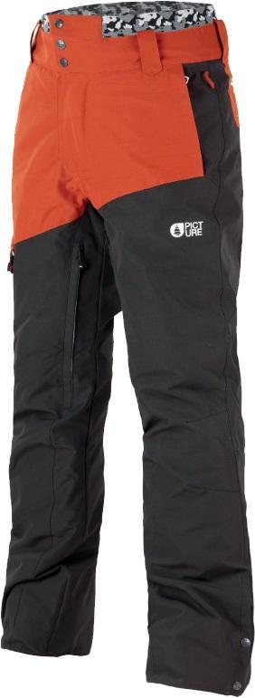 Picture Panel Ski/Snowboard Pants, S Brick 2020
