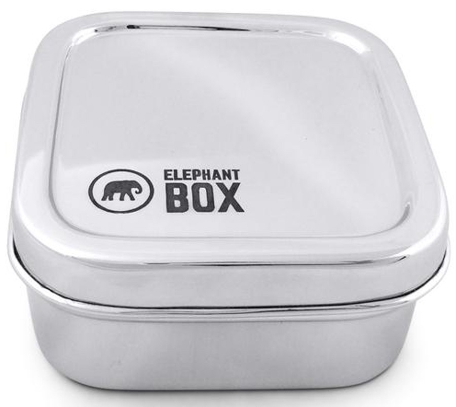 Elephant Box Snack Pod Stainless Steel Food Container, 300ml