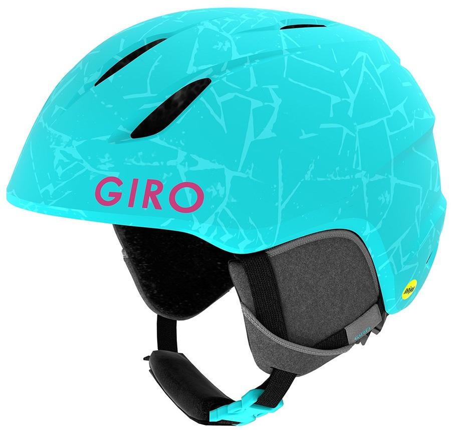 Giro Launch MIPS Kids Ski/Snowboard Helmet, XS Matte Glacier Rock