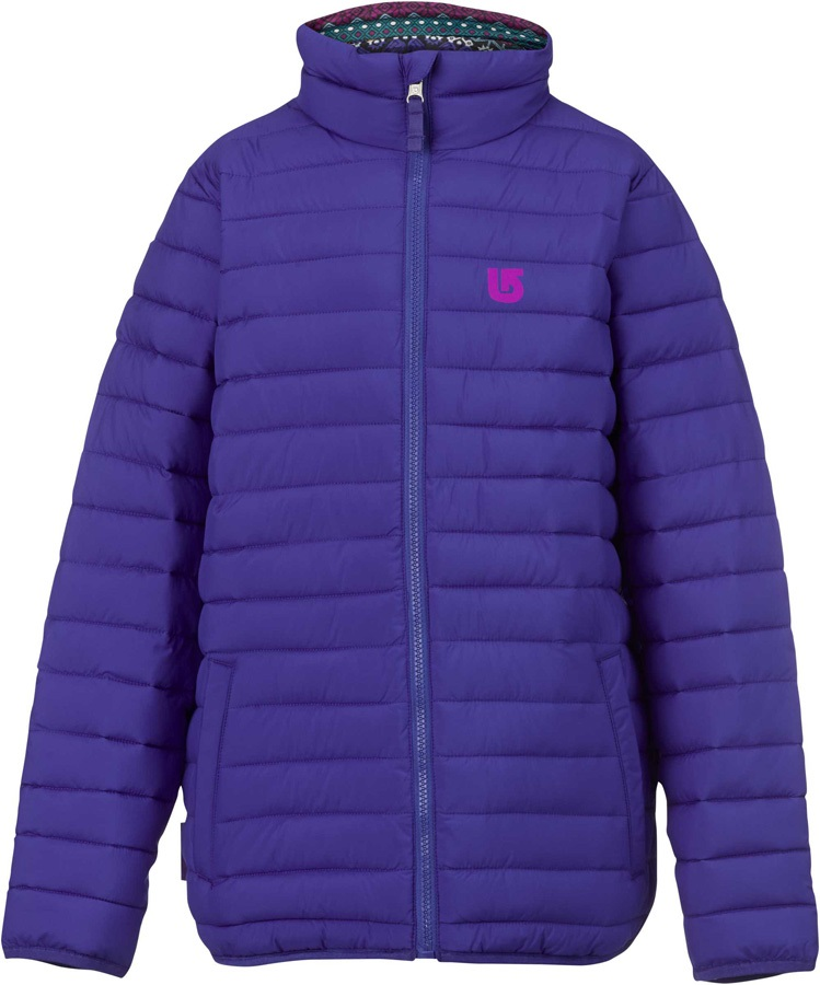Burton Flex Puffy Reversible Kids Jacket XL Sorcerer