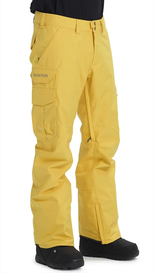 Burton Cargo Snowboard/Ski Pants, M Maize