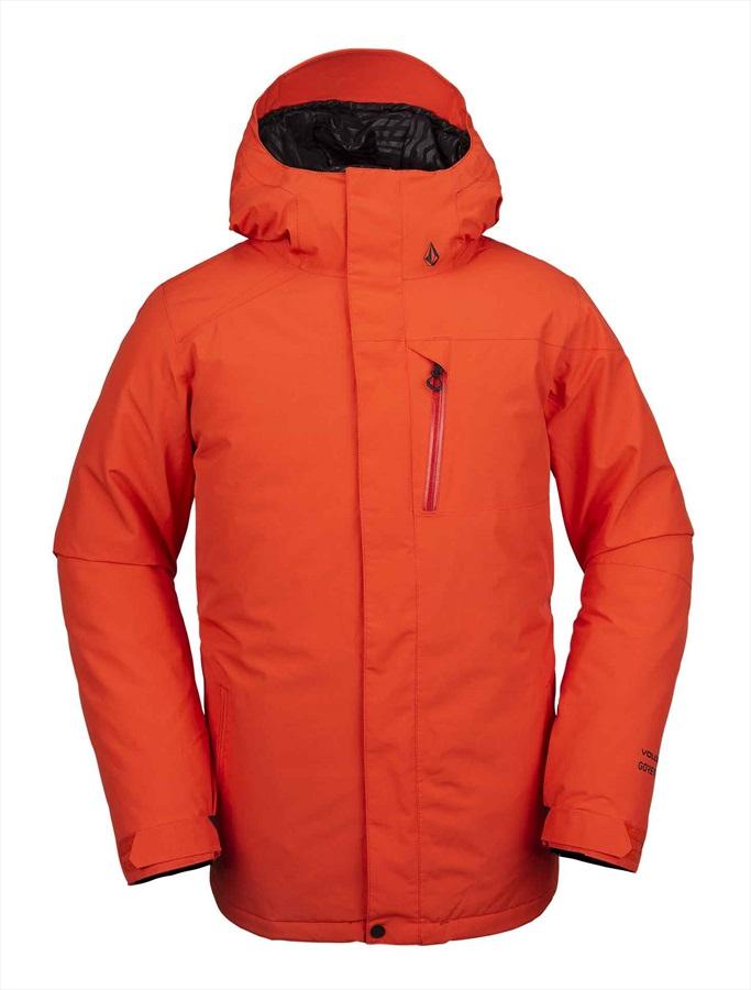 Volcom L Gore-Tex Snowboard/Ski Jacket M Orange