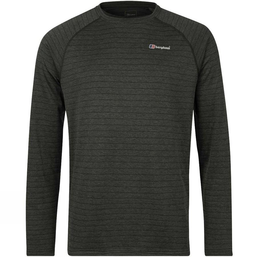 Berghaus Thermal Tech Long Sleeve Crew T-Shirt, S Black/Carbon