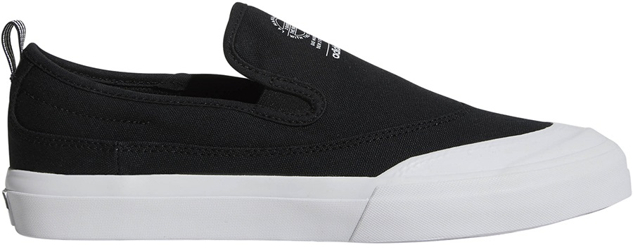 d8072573a4235 Adidas Matchcourt Slip-On Men's Skate Shoes, UK 8 Black/White