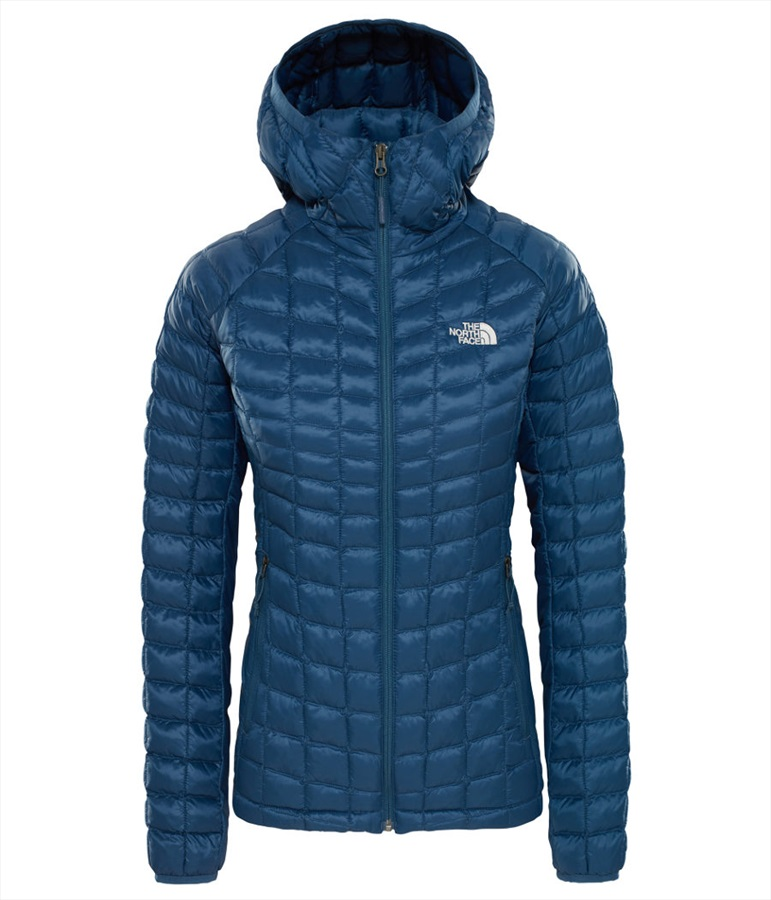 67202d419 The North Face Thermoball Sport Hoodie Women's Jacket S Blue Wing Teal
