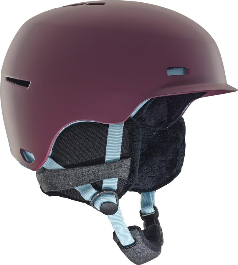 Anon Raven Women's Ski/Snowboard Helmet, L Purple