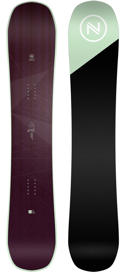 Nidecker Venus Women's Hybrid Camber Snowboard, 147cm 2019
