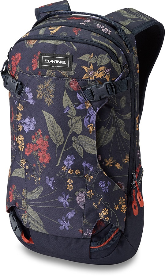Dakine Heli Pack Women's Ski/Snowboard Backpack, 12L Botanics Pet