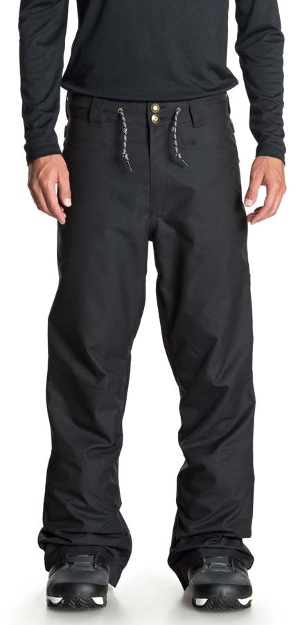 DC Relay Ski/Snowboard Pants, XL Waxed Black
