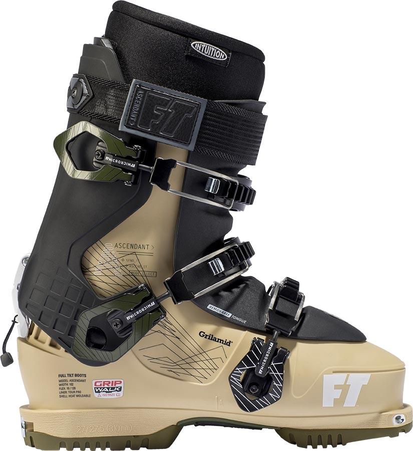 Full Tilt Ascendant Ski Boots, 28/28.5 Khaki/Beige 2020