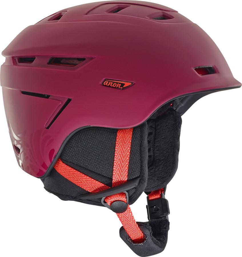 Anon Omega MIPS Women's Ski/Snowboard Helmet, M Magenta